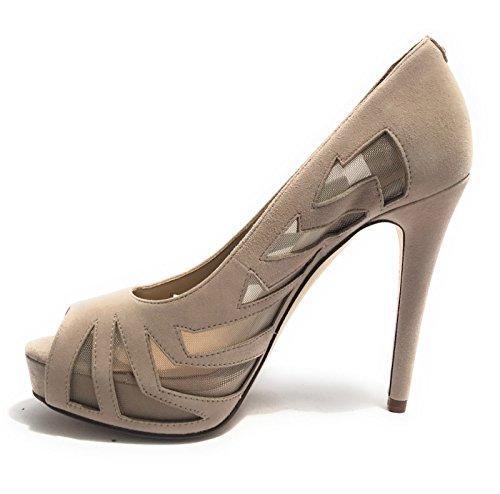 GUESS HAMAZI - Zapatos de vestir de Piel para mujer beige beige 41 EU