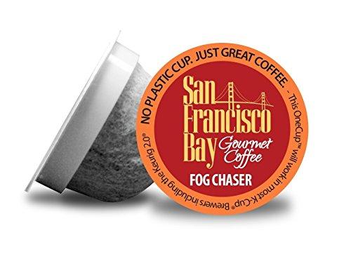 San Francisco Bay Coffee Fog Chaser Coffee OneCup, 160 Count by San Francisco Bay Coffee (Image #1)