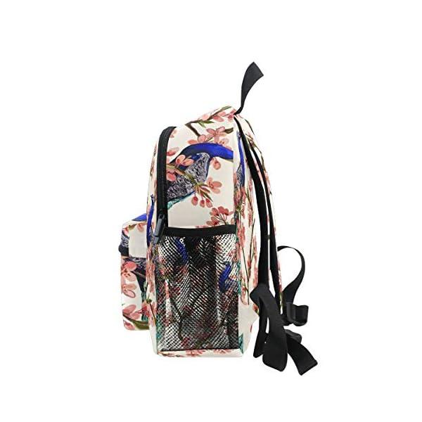 Peacock Kid Zaino Scuola Bookbag Bambini Viaggio Daypack Ragazza Ragazzo 3-8 Anni Bambino Prescolare 4 spesavip