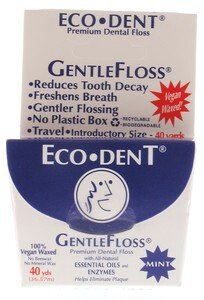 Eco-Dent ECO-DENT FLOSS,VEGAN,WAXED, 40 YD CASE_6