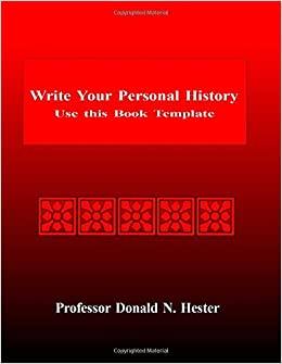 personal history template