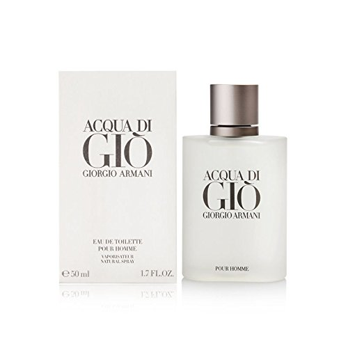 Acqua Di Gio Men Giorgio Armani EDT Spray, 1.7 oz (1.7 Ounce Edt Cologne)