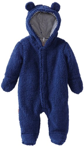 Magnificent Baby Baby-Boys Infant Hooded Bear Pram, Blueb...