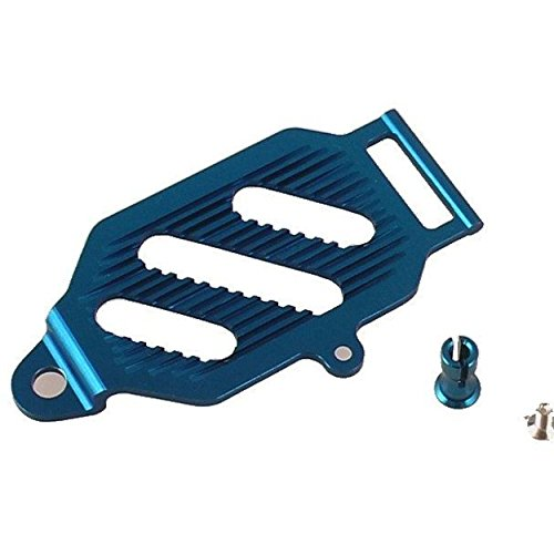 GPM Racing SMT0126 Blue Alum. battery hold down
