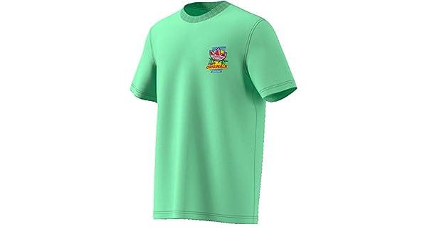 Decimal Pegajoso Barrio  adidas T-Shirt UOMO Bodega Popsicle ED7061 (L - GLOGRN): Amazon.es: Ropa y  accesorios