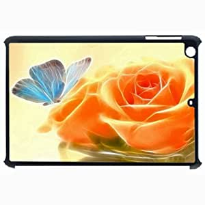 Customized Back Cover Case For iPad Air 5 Hardshell Case, Black Back Cover Design Artistic Personalized Unique Case For iPad Air 5