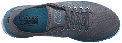 Skechers Fibra Carbón Mujer sintética Momentum Zapatos Deportivos Go Leña de Azul Flex wwFCaxOSq