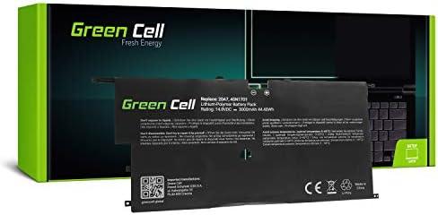 Green Cell® 45N1701 45N1702 45N1703 4ICP5/58/73-2 Batería para Lenovo ThinkPad X1 Carbon 20A7 20A8 2nd Gen Ordenador (3000mAh 14.8V Negro)
