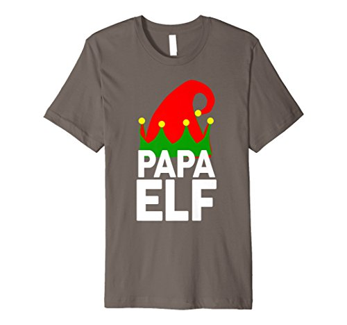 PAPA ELF Funny Christmas T-Shirt | Santa Christmas Shirt ()