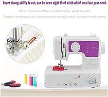 Love lamp Máquinas de Coser Máquina de Coser doméstica eléctrica multifunción 12 Tipos de máquina de Coser de la ...