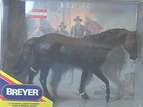 Breyer #755 General Grant's Cincinnati War - Horse Breyer War