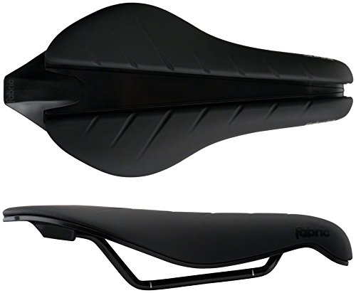 Fabric Tri Elite Flat Saddle: Black