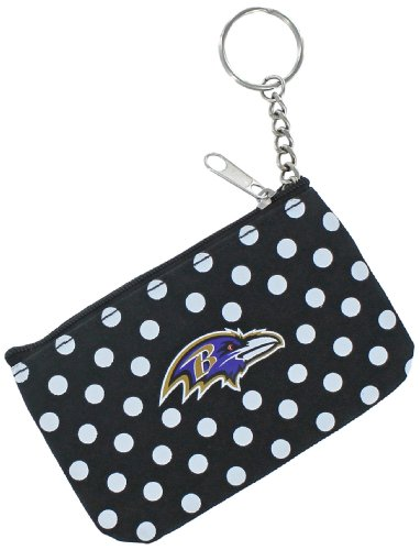 NFL Baltimore Ravens Coin & ID Purse (Thirty One Coin Purse Wallet)
