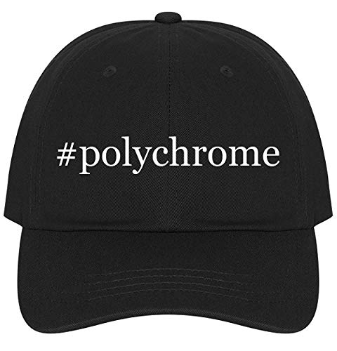 The Town Butler #Polychrome - A Nice Comfortable Adjustable Hashtag Dad Hat Cap, Black