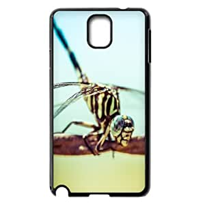 Samsung Galaxy Note 3 Cases a Dragonfly, Men Dragonfly Cases Naza, {Black}