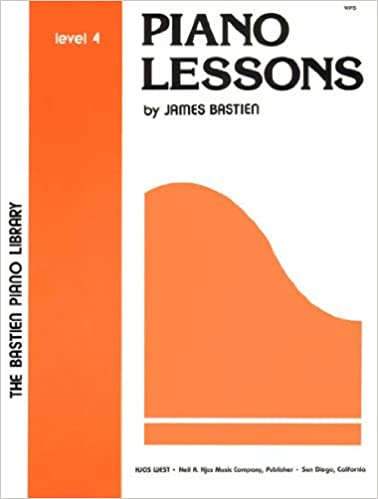 wp5 piano lessons level 4 bastien piano library