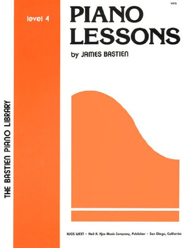 WP5 - Piano Lessons Level 4 - Bastien Piano Library