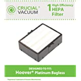 High Quality HEPA Filter for Hoover Platinum Bagless Vacuums; Compare to Hoover Part No. 38765035; Designed & Engineered by Think Crucial