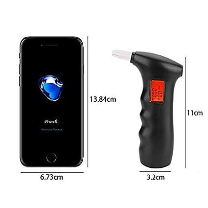 Amazon.com: Alcoholímetro profesional portátil con detección ...