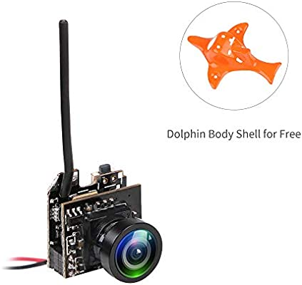 FPV Camera Micro AIO 5.8G 40CH with Y Splitter for FPV Drone like Blade Inductrix FPV Tiny Whoop Eachine E010