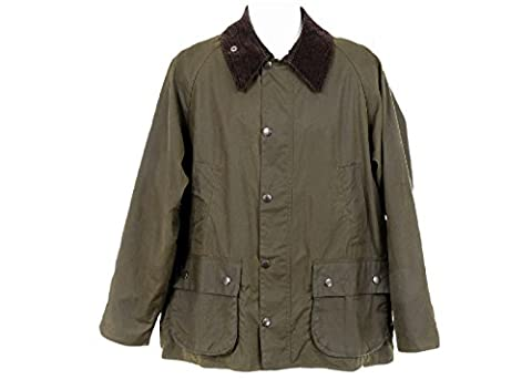 Barbour Classic Beaufort Jacket Coat Size Large New Olilve - Beaufort Waxed Cotton Jacket