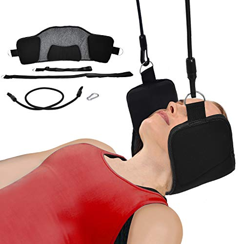 Bontata Neck Hammock Portable Cervical Traction Device for Relieves Head & Shoulder Pain in Less Than 10 Minutes. Comes with Bonus Eye Mask by Bontata (Image #1)