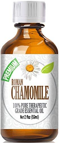 Chamomile Essential Oil, Roman 100% Pure in Jojoba (30%/70% Ratio), Best Therapeutic Grade - 60ml
