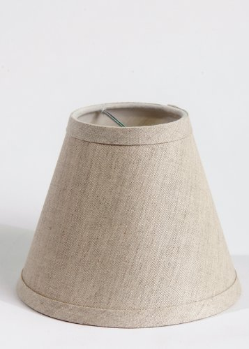 Urbanest-Pure-Linen-Chandelier-Lamp-Shades-6-inch-Hardback-Clip-On-Oatmealset-of-2