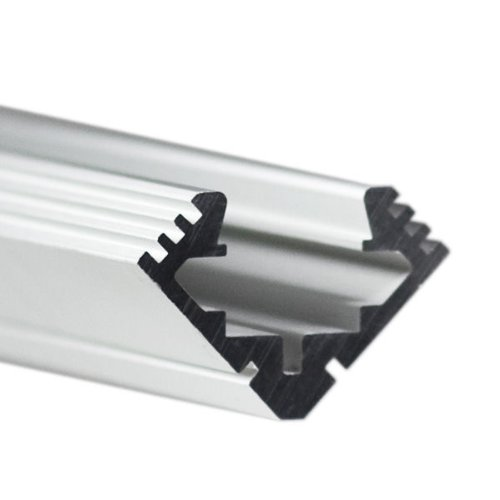 39.4 in. Anodized Aluminum 45-ALU Channel - Klus B4023ANODA