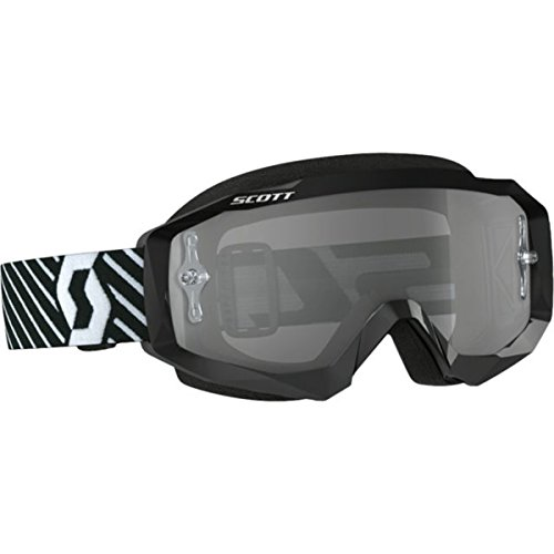 (Scott Hustle MX Sand Dust Adult Off-Road Motorcycle Goggles - Black/White/Grey/One Size)