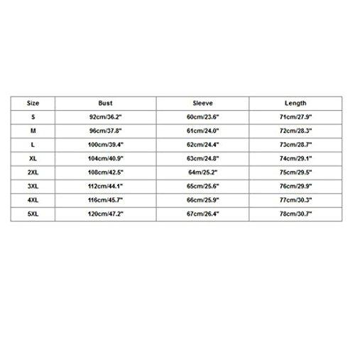 Camicetta Casuali Allentata Donna Maniche Elegante Cotone Lunghe Blu A Maglietta Maniche Tops A Donna Camicia Abbottonata Maniche Camicetta Lunghe A Lunghe da Yesmile Camicetta in CARqnxw1