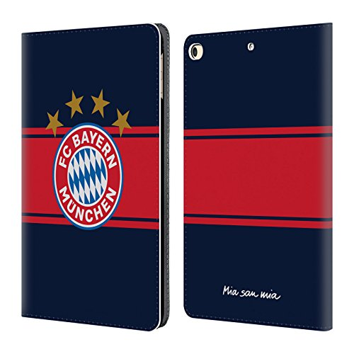 Official FC Bayern Munich Away 2017/18 Logo Kit Leather Book Wallet Case Cover For Apple iPad 9.7 (Bayern Munich Kits)