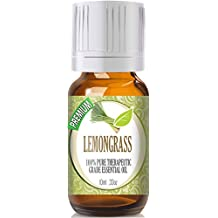 Lemongrass - 100% Pure, Best Therapeutic Grade Essential Oil - 10ml