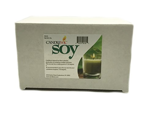 Candlewic Soy Wax (5 lb.) Glass Fill Candle Wax