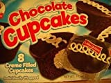 Little Debbie Chocolate Cup Cakes 8 Count [2 Packs]