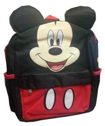 Disney Mickey Mouse Ears Square Back Pack [並行輸入品] B078WW5Y3G