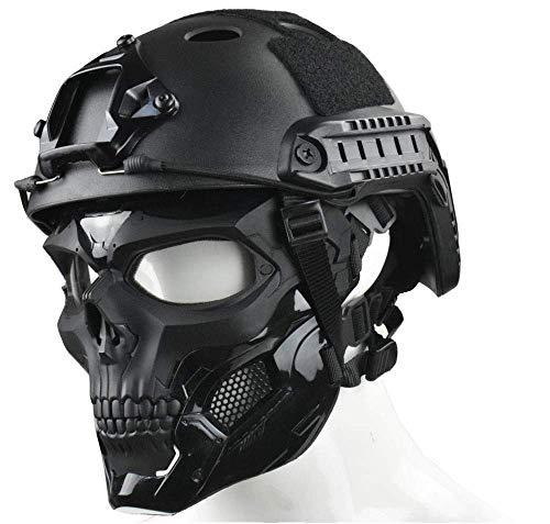 WLXW Masque Tactique Airsoft Et Casque de Paintball Rapide, Masque Intégral de Masque de Protection pour Masque de… 1