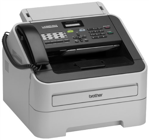 how to set brother fax machine