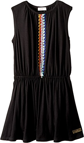 Missoni Kids Girl's Jersey Dress (Big Kids) Black 8-9 by Missoni Kids