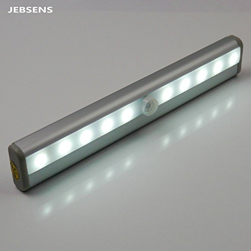 Jebsens New Battery Operated Cool White Automatic Light