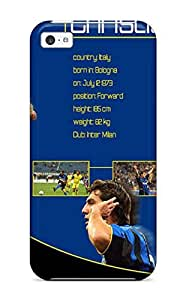 Shock-dirt Proof Cristian Vieri Case Cover For Iphone 5c