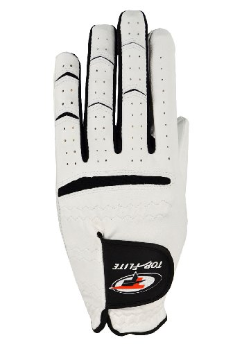 Top Flite Ladies Dual Construction Leather Golf Gloves Left Hand Medium