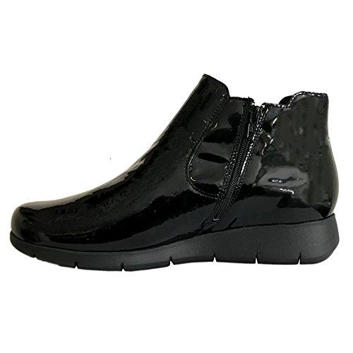 Mobils UK Darly Black Boots 4 Womens Leather YTFYr