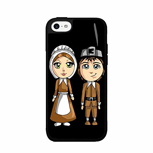 Pilgrims 2-Piece Dual Layer Phone Case Back Cover iPhone 5 5s (Piece Pilgrim 5)