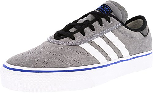Adidas Men's Adi-Ease Premiere Skate Shoe Grey Heather/White/Black u3Kj6P3ncj