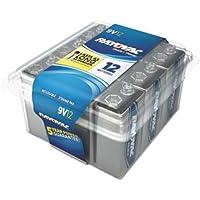 12-Pack Rayovac PP3 9v Alkaline Battery