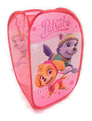 (Nickleoden Paw Patrol Square Pop Up Storage Bag with Skye and Everest)