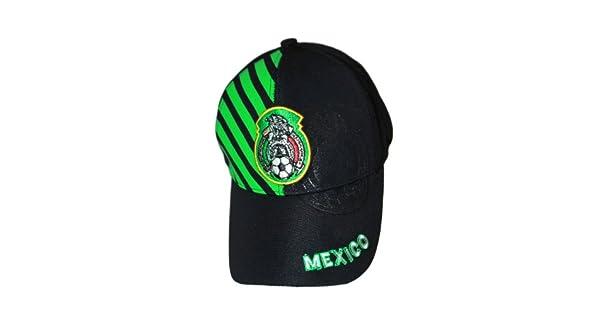 Amazon.com: México Negro con Verde Rayas.. Copa Mundial de ...