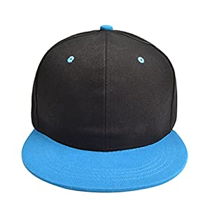 Eric Hug Fashion Personalized Hip-hop Hats Men Women Solid Adjustable Sun Hat Snapback Hip Hop Hat Customize LOGO BQ125S High quality