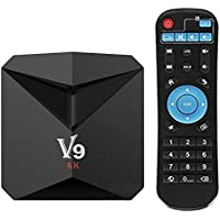 Android 7.1 TV Box Amlogic S912 TV Box 3GB RAM/32GB ROM with 4K Dual Band WiFi 2.4GHz/5GHz BT 4.0 64 Bits